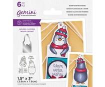 Gemini Warm Winter Wishes Stamp & Die (GEM-STD-WWW)