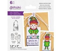 Gemini Sending Christmas Cheer Stamp & Die (GEM-STD-SCC)