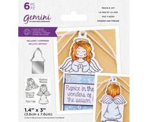 Gemini Peace & Joy Stamp & Die (GEM-STD-PEJO)