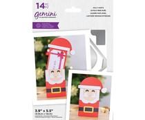 Gemini Jolly Santa Stamp/Die/Template (GEM-STD-JOSA)