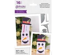 Gemini Festive Snowman Stamp/Die/Template (GEM-STD-FESS)