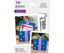 Gemini Festive Gift Stamp/Die/Template (GEM-STD-FESG)