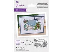 Gemini Sending Festive Wishes Stamp & Die (GEM-STD-SEFEWI)