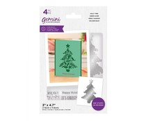 Gemini Holly Tree Stamp & Die (GEM-STD-HOTR)