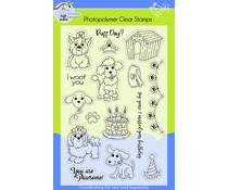 Lil' Bluebird Designs Puppy Love Stamp Set (LBD-S014)