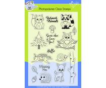 Lil' Bluebird Designs Forest Friends Stamp Set (LBD-S006)