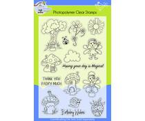 Lil' Bluebird Designs Fairy Wishes Stamp Set (LBD-S005)