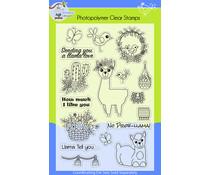 Lil' Bluebird Designs Llama Love Stamp Set (LBD-S011)