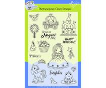 Lil' Bluebird Designs Princess Party Stamp Set (LBD-S013)