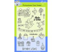 Lil' Bluebird Designs Happy Birthday Stamp Set (LBD-S007)