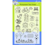 Lil' Bluebird Designs Home Sweet Home Stamp Set (LBD-S008)