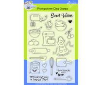 Lil' Bluebird Designs In the Kitchen Stamp Set (LBD-S009)