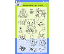 Lil' Bluebird Designs Kitty Love Stamp Set (LBD-S010)