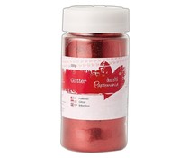 Papermania Large Glitter Pot Red 250g (PMA 401914)