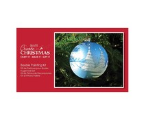 Papermania Create Christmas Bauble Painting Kit Clear (PMA 105210)