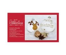 Papermania Create Christmas Bauble Painting Kit Ceramic (PMA 105211)