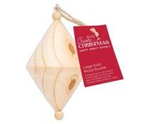 Papermania Create Christmas Large Solid Wood Bauble Diamond (PMA 359922)