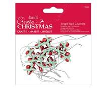 Papermania Create Christmas Jingle Bell Clusters (12pcs) (PMA 356957)