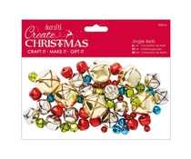 Papermania Create Christmas Jingle Bells (60pcs) (PMA 356936)