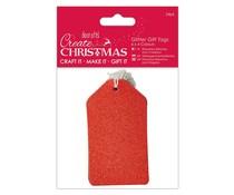 Papermania Create Christmas Glitter Gift Tags (24pcs) (PMA 105962)