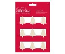 Papermania Create Christmas Tree Silhouette Pegs (9pcs) (PMA 174944)
