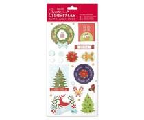 Papermania Create Christmas Thicker Stickers Christmas Icons (PMA 351805)