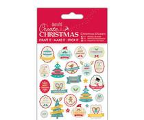 Papermania Create Christmas Stickers Retro (PMA 804936)