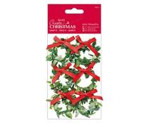 Papermania Create Christmas Mini Wreaths (6pcs) (PMA 356930)