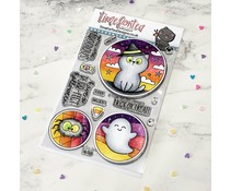 Time For Tea Spooky Circles Clear Stamps (T4T/786/Spo/Cle)