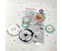 Time For Tea Coffee Lovers Clear Stamps (T4T/719/Cof/Cle)