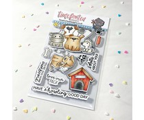 Time For Tea Dog Gone Mutts Clear Stamps (T4T/721/Dog/Cle)