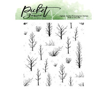 Picket Fence Studios Autumn Field 4x4 Inch Clear Stamps (BB-170)