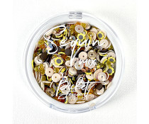 Picket Fence Studios Fall Flowers Sequin Mix (SQC-117)