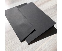 Graphic 45 Cards & Envelopes Black 4.25x5.5 Inch (4501989)