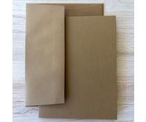 Graphic 45 Cards & Envelopes Kraft 4.25x5.5 Inch (4501990)