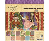Graphic 45 Nutcracker Sweet 8x8 Inch Paper Pad (4500562)