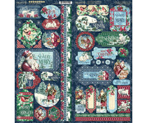 Graphic 45 Let it Snow Stickers (4502326)