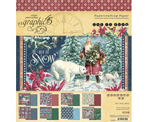 Graphic 45 Let it Snow 8x8 Inch Paper Pad (4502322)