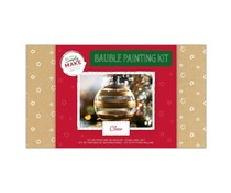 Simply Make Bauble Painting Kit Clear (DSM 105210)