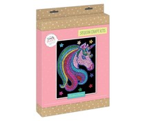 Simply Make Sequin Art Kit Rainbow Unicorn (DSM 105152)