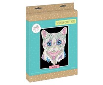 Simply Make Sequin Art Kit Cute Kitty (DSM 105155)