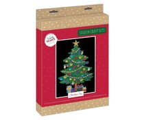 Simply Make Sequin Art Kit Christmas Tree (DSM 105158)