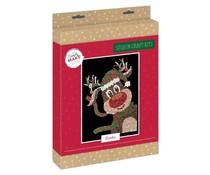 Simply Make Sequin Art Kit Christmas Reindeer (DSM 105159)