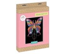 Simply Make Sequin Art Kit Butterfly (DSM 105153)