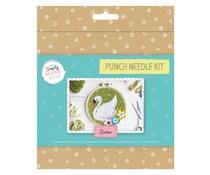 Simply Make Punch Needle Kit Swan (DSM 106077)