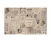 Re-Design with Prima Newsprint 19,5x30 Inch Tissue Paper (654993)