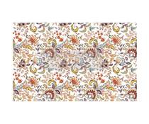 Re-Design with Prima Tangerine Spring 19,5x30 Inch Tissue Paper (655686)