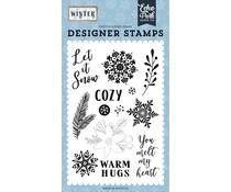 Echo Park Cozy Winter Clear Stamps (WTR257043)