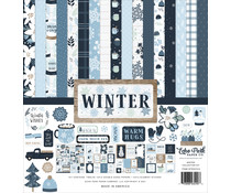 Echo Park Winter 12x12 Inch Collection Kit (WTR257016)
