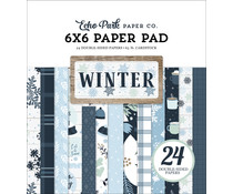 Echo Park Winter 6x6 Inch Paper Pad (WTR257023)